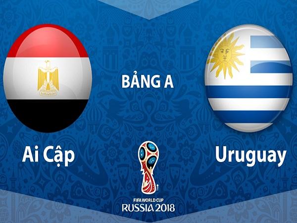Nhận định Ai Cập vs Uruguay