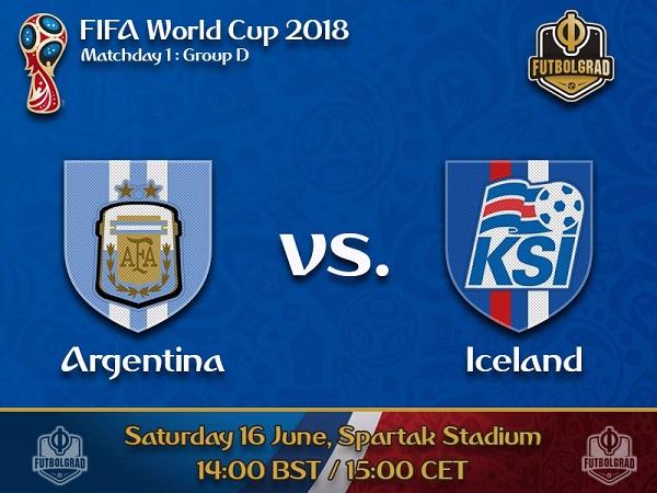Nhận định Argentina vs Iceland