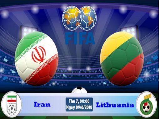 Nhận định Iran vs Lithuania, 22h00 ngày 08/6: Nhẹ nhàng vượt ải