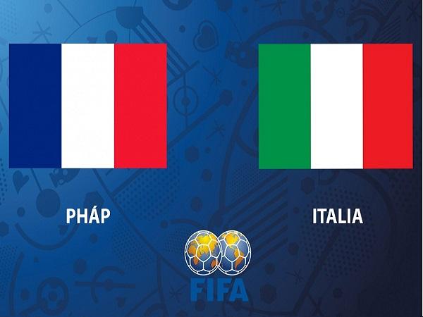 Nhận định Pháp vs Italia