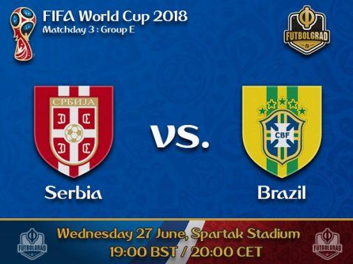Nhận định Serbia vs Brazil, 01h00 ngày 28/06: Selecao toan tính