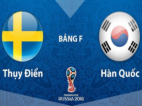 Nhận định Thụy Điển vs Hàn Quốc