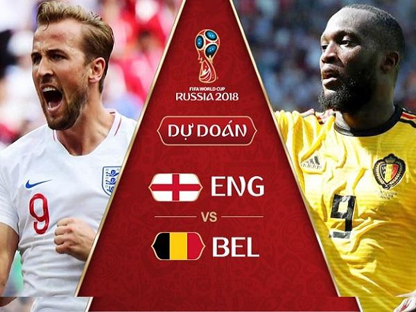 Nhận định Anh vs Bỉ