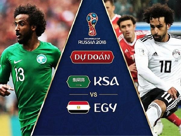 Nhận định Ả Rập Xê Út vs Ai Cập