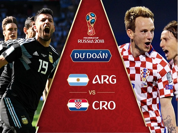 Nhận định Argentina vs Croatia