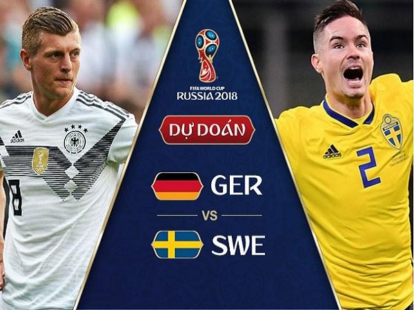 Nhận định Đức vs Thụy Điển