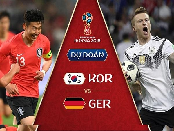 Nhận định Hàn Quốc vs Đức