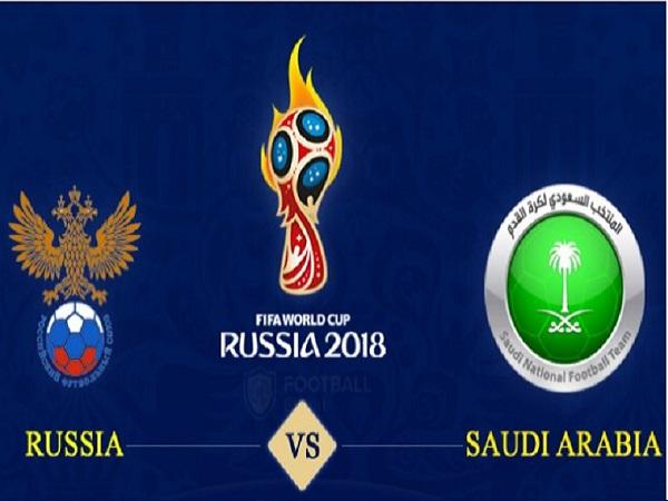 Nhận định Nga vs Ả Rập Xê Út