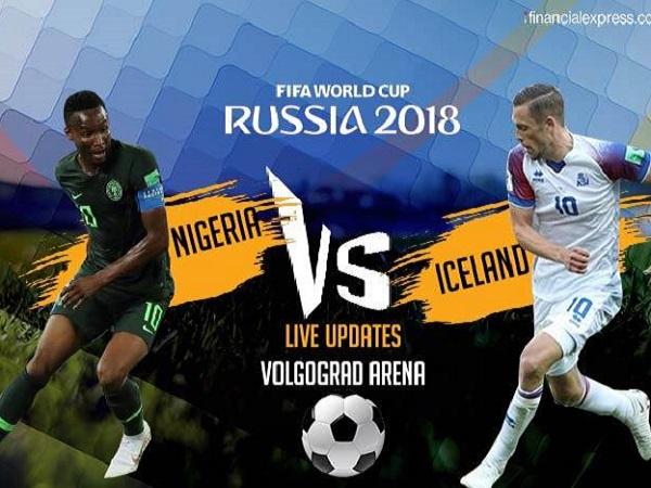 Nhận định Nigeria vs Iceland