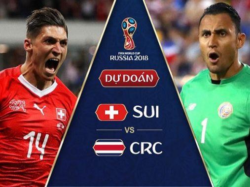 Nhận định Thụy Sỹ vs Costa Rica, 01h00 ngày 28/6: Quyết giành 3 điểm