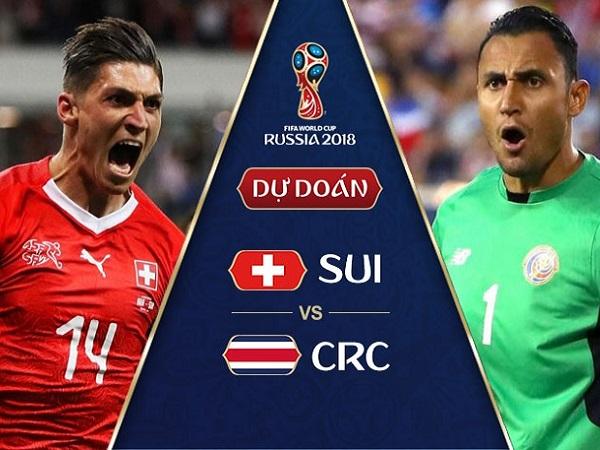 Nhận định Thụy Sỹ vs Costa Rica