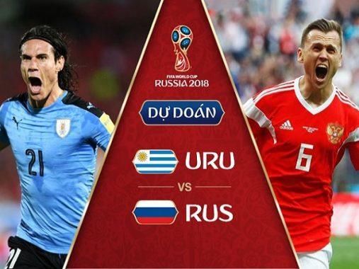 Nhận định Uruguay vs Nga, 21h00 ngày 25/06: Toàn thắng vòng bảng