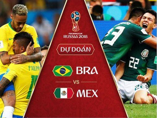 Nhận định Brazil vs Mexico, 22h00 ngày 2/7: Chọc gậy bánh xe