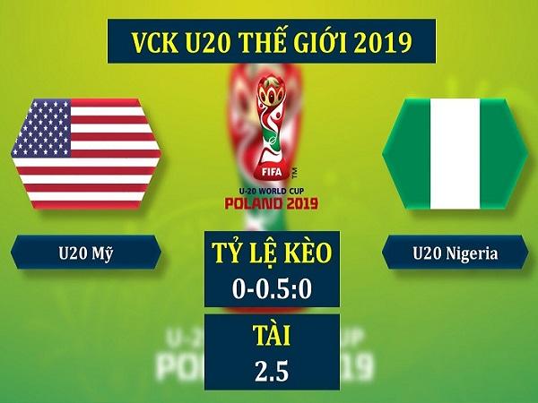Nhận định U20 Mỹ vs U20 Nigeria, 1h30 ngày 28/05