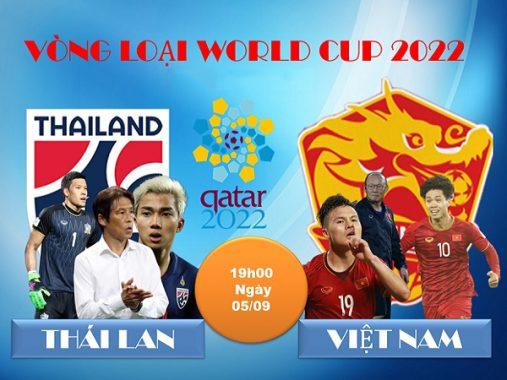 Link xem bóng đá trực tuyến Thái Lan vs Việt Nam, 19h00 ngày 5/9