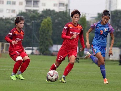 Tuyển nữ Việt Nam đại thắng nữ Ấn Độ trước SEA Games 30