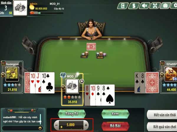 Chơi poker vô cùng thu hút đối với các bạn trẻ hiện nay