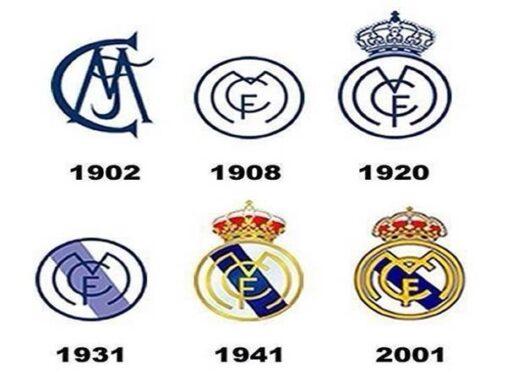 Biểu tượng Real Madrid mang ý nghĩa gì qua các thời kỳ?