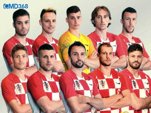 Danh sách dự kiến cầu thủ đội hình Croatia giải Euro 2020 năm 2021