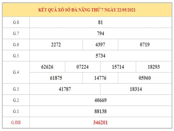 Dự đoán XSDNG ngày 26/5/2021 dựa trên kết quả kì trước
