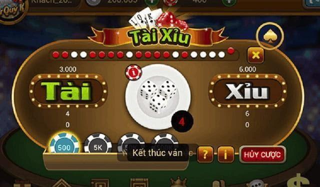 Chơi game trong casino ăn tiền nhà cái không nên bỏ qua game chơi tài xỉu hấp dẫn