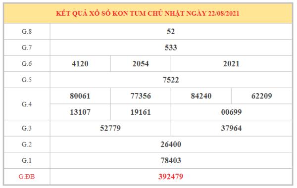Dự đoán XSKT ngày 29/8/2021 chốt lô số đẹp đài Kon Tum
