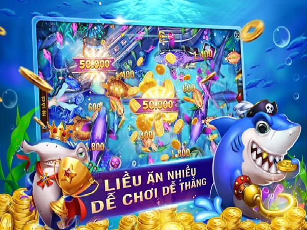 Game bắn cá online - Đổi thưởng không giới hạn